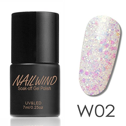 (7ML Women Diamonds Gel Nail Polish Nail Art Gel Polish UV LED Gel )