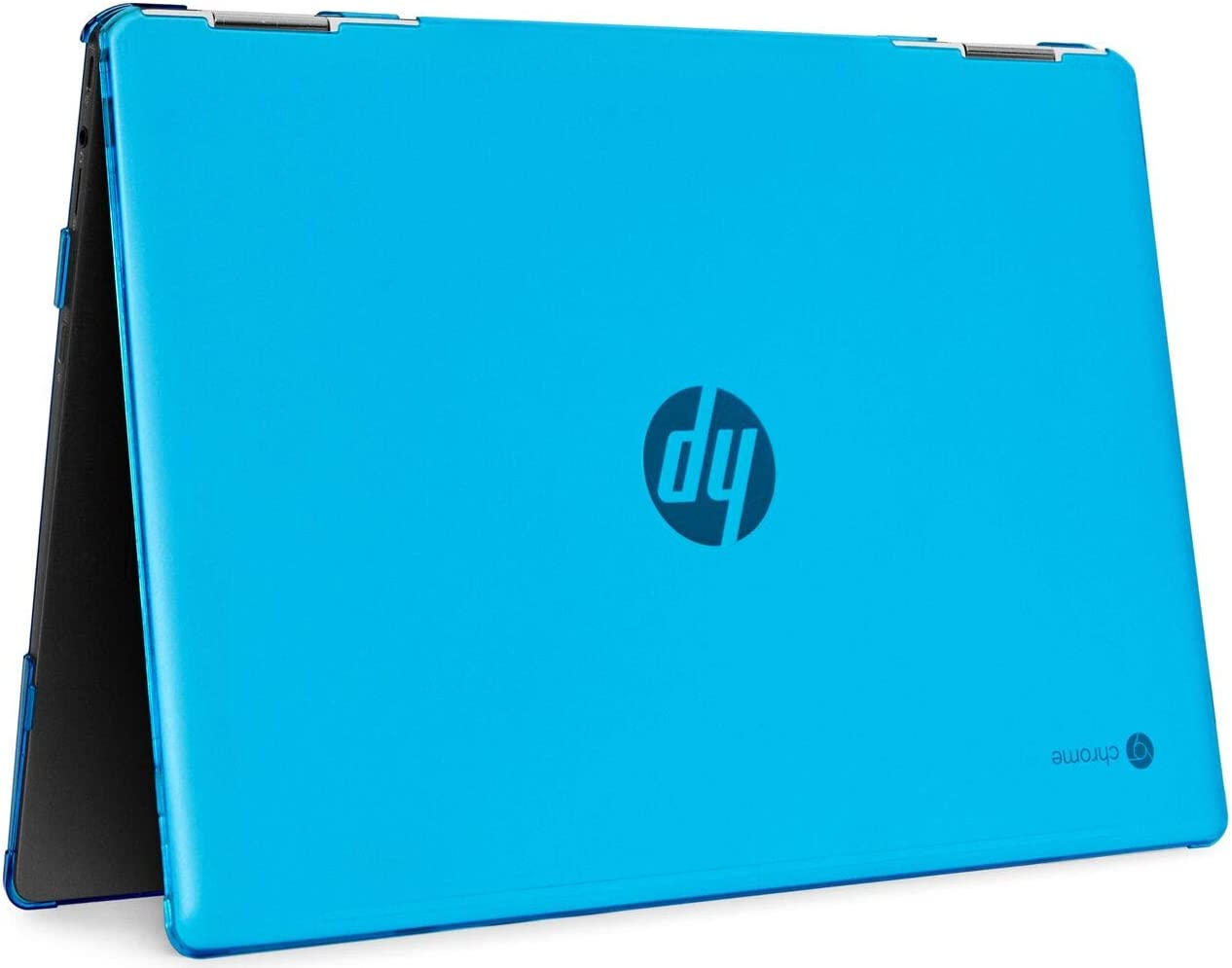 "mCover Hard Shell Case for 2020 14"" HP Chromebook X360 14b-CAxxxx Series laptops (Aqua)"