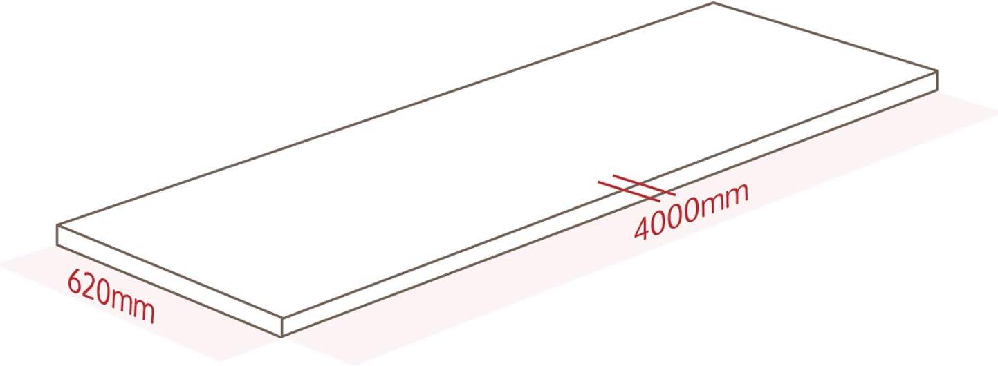 WORKTOPEXPRESS Arbeitsplatten Zebrano Massiv wie Fr/ühst/ückbars 2000mm X 620mm X 40mm