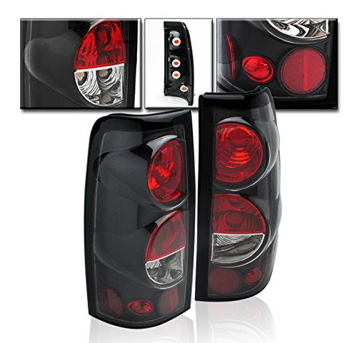 Chevrolet Led Tail Lamp - ZMAUTOPARTS Chevy Silverado/ GMC Sierra Pickup Tail Brake Lights Rear Lamp Black