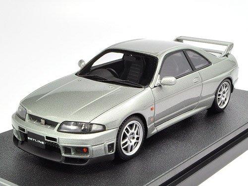 1/43 Nissan Skyline GT-R V-spec R33 Sonic Silver 後期型MIRAGE 8386