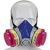 Safety Works SWX00320 Multi-Purpose Respirator Half-Mask Niosh Ov/AG/P100