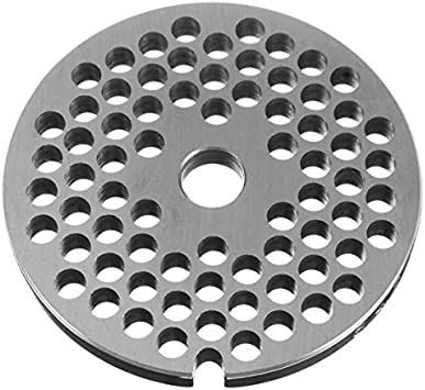 3mm CoCocina Type 8 Meat Grinder Plate Disc 3//4.5//6//12mm Stainless Steel Grinder Disc Machinery Parts
