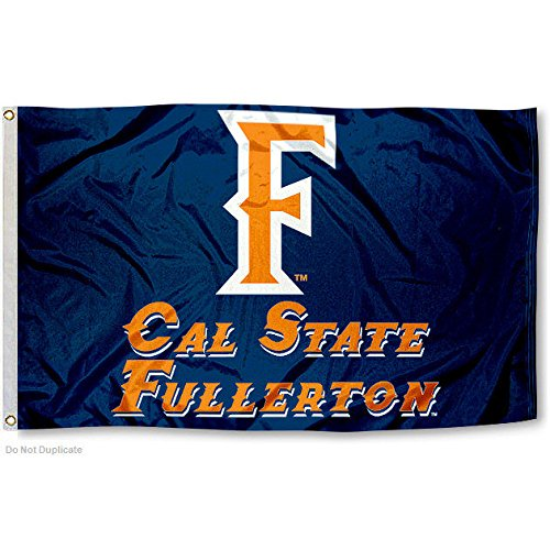Fullerton Titans Cal State University Large College Flag