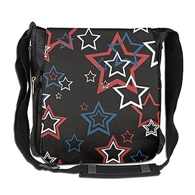 hot sale 2017 Colorful Stars Cool Fashion Print Diagonal Single Shoulder Bag ab0eed1f6a7f4