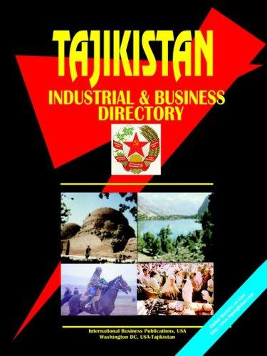 Tajikistan Industrial and Business Directory ebook