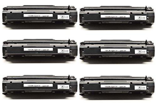 InkClub 6PK Laser Toner Cartridge Compat - Q2613x High Yield Laser Shopping Results