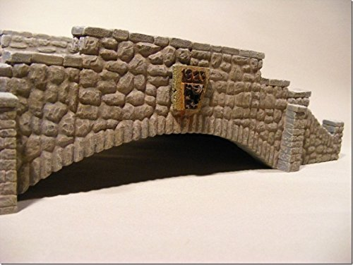 Reality In Scale 1:35 Large Stone Bridge - Resin Diorama Accessory #35188