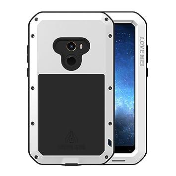 HICASER Xiaomi Mi Mix 2 Funda Impermeable, Anti-Polvo y Resistente a Golpes y Nieve Heavy Duty de Aleación de Aluminio Metal Protectora Waterproof ...