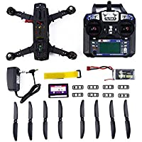 Carbon Fiber Mini 250 Quadcopter Frame Motor Flight Control Board Set carbon fiber black, by LC Prime