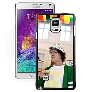 Beautiful Designed Cover Case With Kasper Bjorke Cap Glasses Glass Flowers For Samsung Galaxy Note 4 N910A N910T N910P N910V N910R4 Phone Case