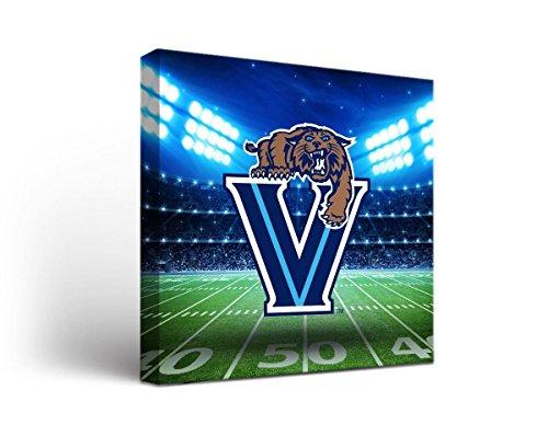 - Victory Tailgate Villanova University Wildcats Canvas Wall Art Stadium Design (18x24)