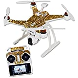 Skin For Blade Chroma Quadcopter – Gold Dazzle | MightySkins Protective, Durable, and Unique Vinyl Decal wrap cover | Easy To Apply, Remove, and Change Styles | Made in the USA