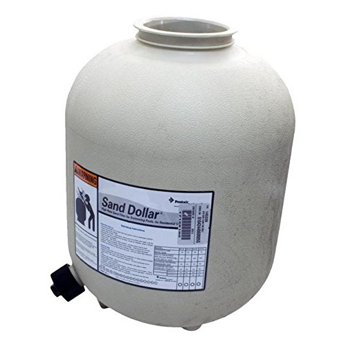 Sand Filter Replacement Tank (Pentair 145339 Almond Tank with Drain Replacement Sand Dollar SD35 Pool and Spa Sand Filter)