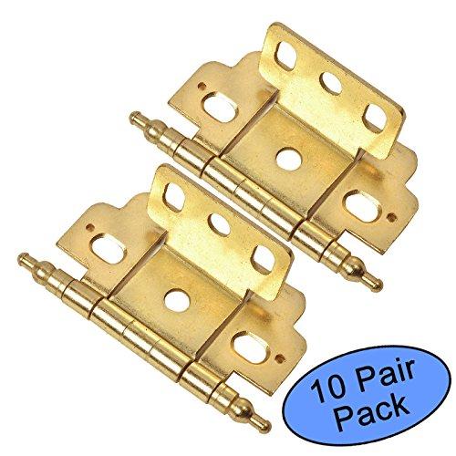10 Pack - Cosmas 13180-BB Brushed Brass 3/4