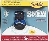 Muttluks SM6BU Snow Mushers Dog Boots - Size 6 - Medium Blue Pack of 2