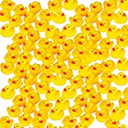 Mini Rubber Ducks Duckie Baby Shower Birthday Party Favors (1.5, 100 Pack) by Liberty Imports