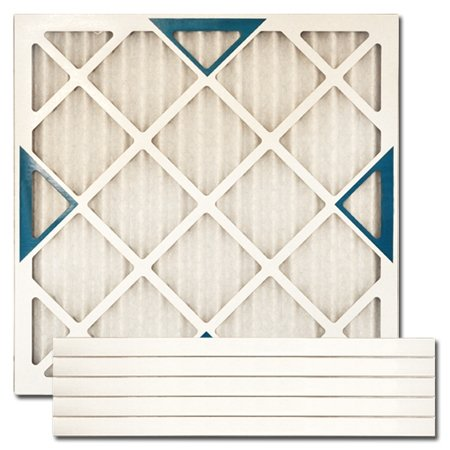 "21"" X 22"" X 1"" MERV 8 Pleated Furnace Filter, 6-Pack"