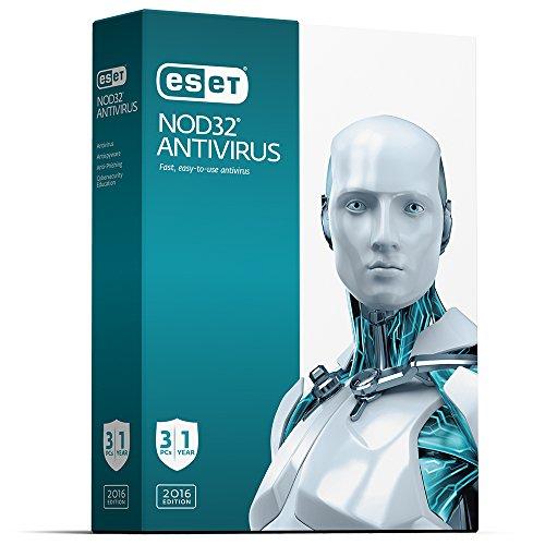 ESET NOD32 Antivirus 3U 2016 product image
