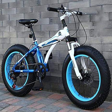 GASLIKE Bicicletas de montaña de 20 Pulgadas, Bicicleta de ...
