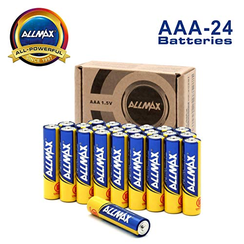 ALLMAX AAA Batteries (24-Pack), Triple A 1.5 Volt All-Powerful Alkaline Battery, Ultra Long Lasting and Leak-Proof ()