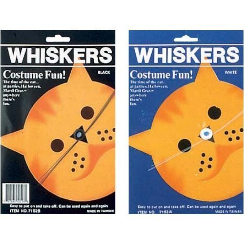 Costumes Cat Whiskers (CAT WHISKERS BLACK)
