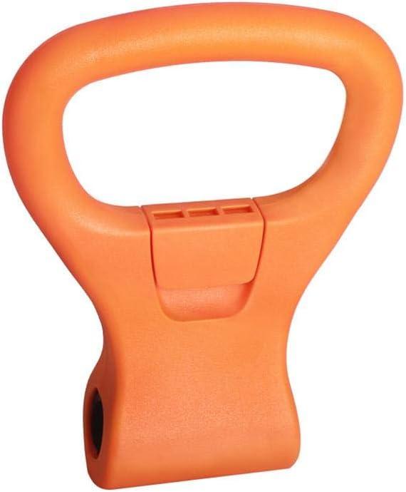 Abrazaderas a Dumbells perder peso Kettlebell Weight Grip,Kettlebell Adjustable Weight Grip port/átil Equipo de entrenamiento de viaje Equipo para bolsa de gimnasio,levantamiento de pesas,culturismo