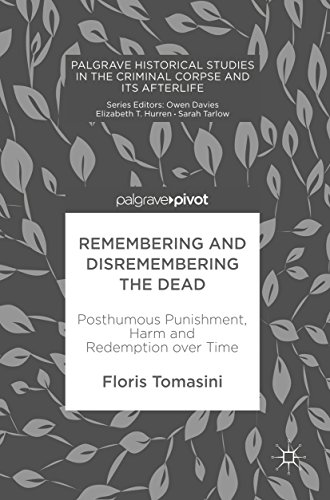 Remembering and Disremembering the Dead: Posthumous Punishment, Harm and Redemption over Time (Palgrave Historical Studies in the Criminal Corpse and its Afterlife)