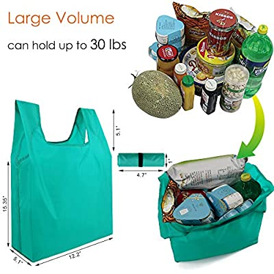 Reusable Grocery Bags Shopping Foldable
