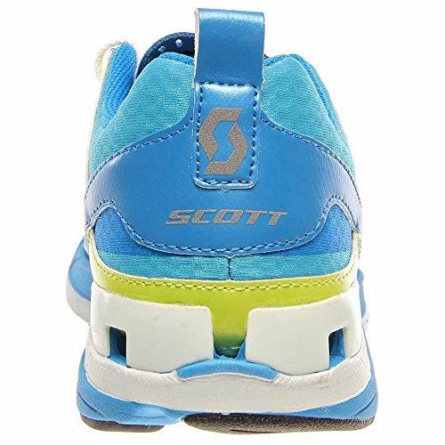 Scott T2 C Mujeres Azul / Verde Lima