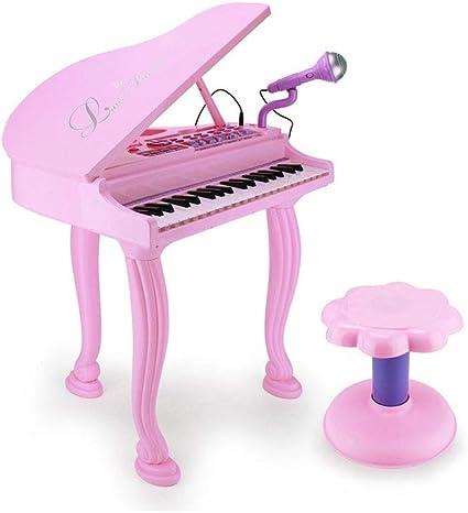 HXGL-piano Teclado de Juguete de los niños con el micrófono ...