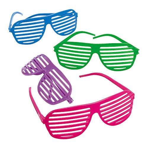 Oriental Trading Shutter Shading Glasses (12-Pair)]()
