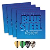 Best Acoustic Guitar Strings - Dean Markley 2562 Blue Steel MED Electric Guitar Review