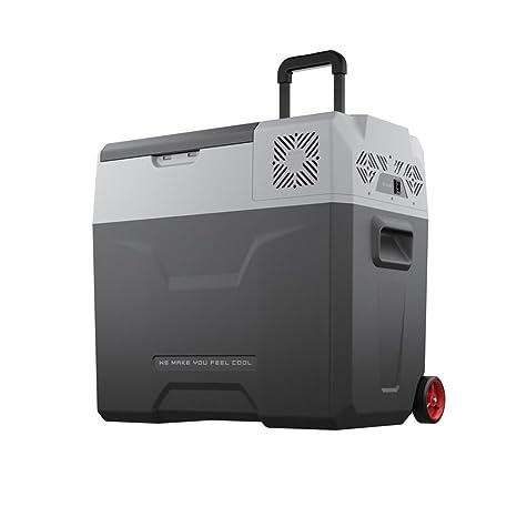 50L coche pequeño refrigerador / coche de casa de doble uso / portátil al aire libre compresor de refrigeración mini ...