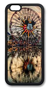 California Adventure TPU Case Cover for iPhone 6 Black
