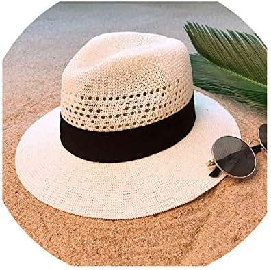 Hat for Lady Wide Brim Beach Sun Hat with Mesh Sunbonnet Cap