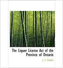 liquor licence act of ontario pdf