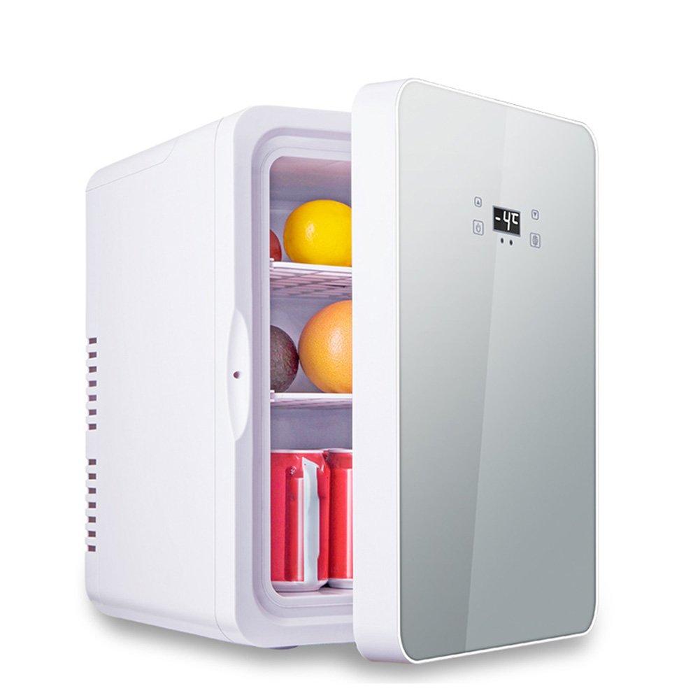 LIQICAI 22L Elektrische Kühlbox Heiß Kalt Kühlbox Auto Zuhause 240V AC & 12V DC, Intelligente Digitalanzeige