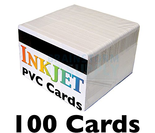 Inkjet PVC Cards with 1/2