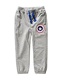 Tortor 1Bacha Kid Little Boys' Cotton Sport Jogger Long Pants