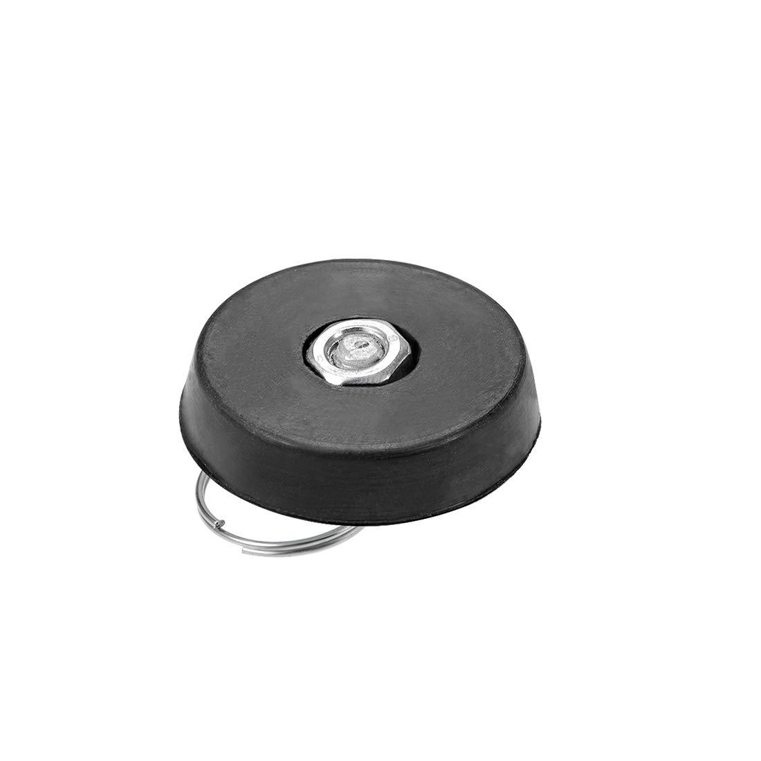 salle de bain 33-37mm,3 Pack Sourcing map Bouchon de vidange en caoutchouc avec anneau pour baignoire cuisine