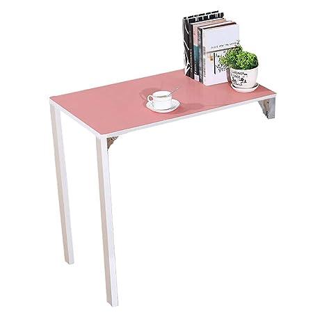 mesa plegable YXX Pared Hogar Cocina Comedor Mesa de Madera de la ...