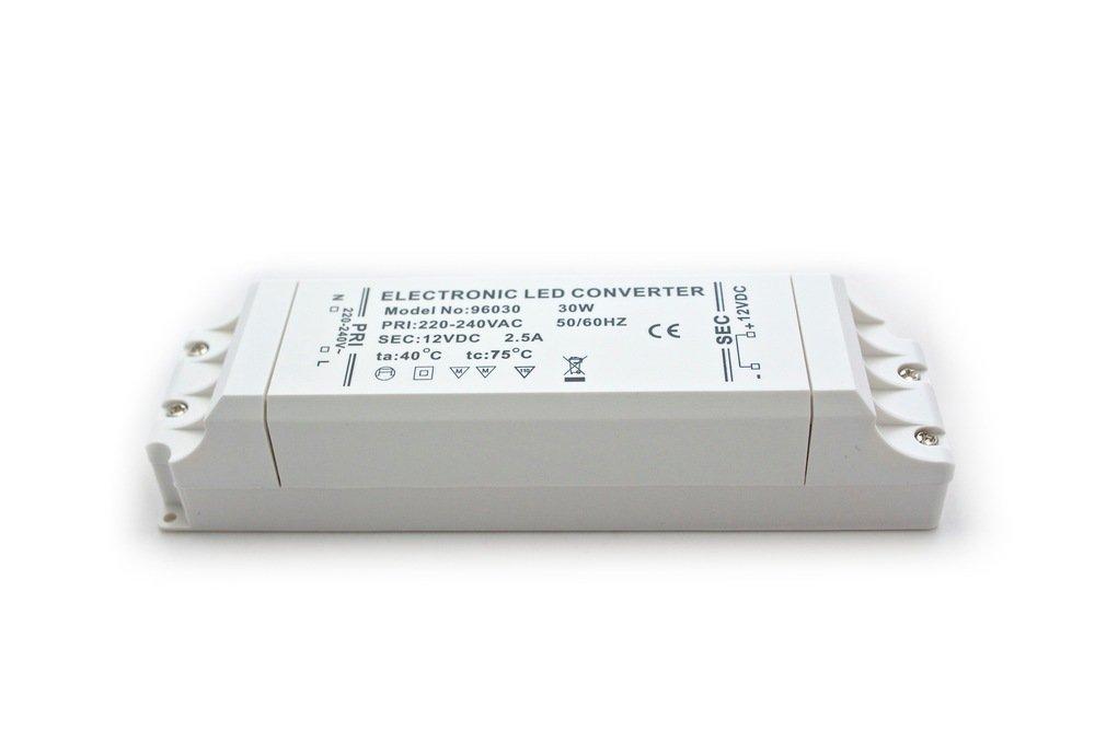 Mini LED Transformator 12V DC 1A 12W elektronischer Trafo Treiber Netzteil LEDs edi-tronic