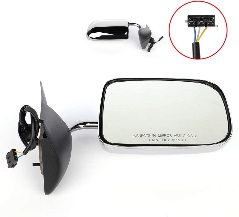 ECCPP Right Side Mirror Power Adjustment Manual Folding Compatible with 1994-1997 Dodge Ram 1994-1997 Dodge Pickup Truck 6x9