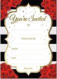 Best Invitations With Envelopes Packs - 30 Invitations with Envelopes - Bridal Shower Invitations Review