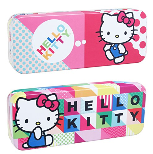 Hello Kitty Pencil - Bundle of 2 Tin Box Co Hello Kitty 8
