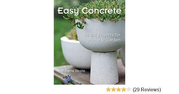 easy concrete 43 diy projects for home garden malena skote