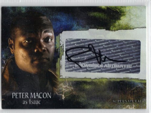 Supernatural Season 3 Isaac Autograph Trading Card A-28 by Inkworks