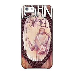 Shock Absorbent Hard Phone Case For Iphone 5c With Allow Personal Design Fashion Alesana Series AlissaDubois
