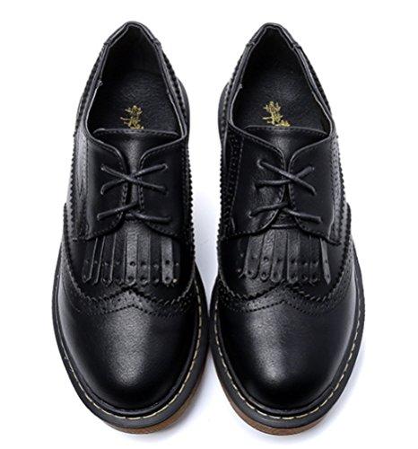 Zapatos DADAWEN Vestir negro de mujer 0AwqOzAH